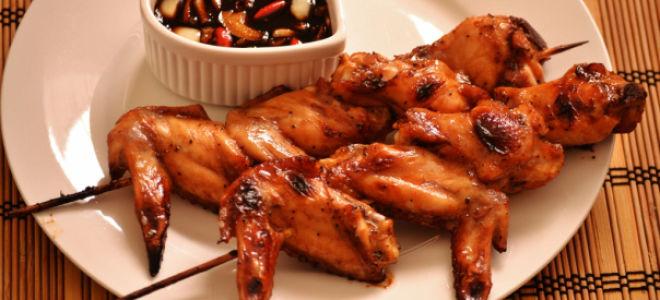 Куриные крылышки «барбекю»
