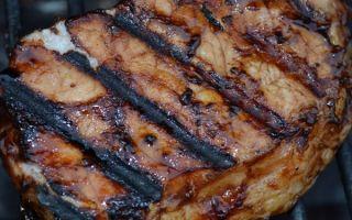 Шашлык из свинины по-итальянски